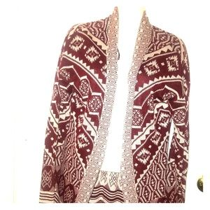 Hippie Rose aztec sweater